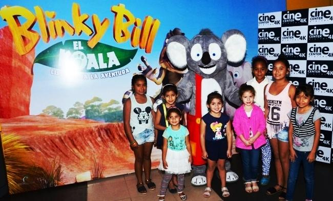 Cine Center, premier, Blinky Bill, Koala, película, infantil, animada,